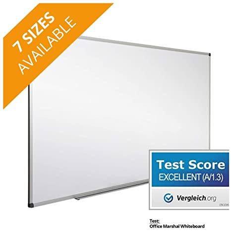 Amazon.com : Office Marshal Professional Magnetic Dry Erase Board ...