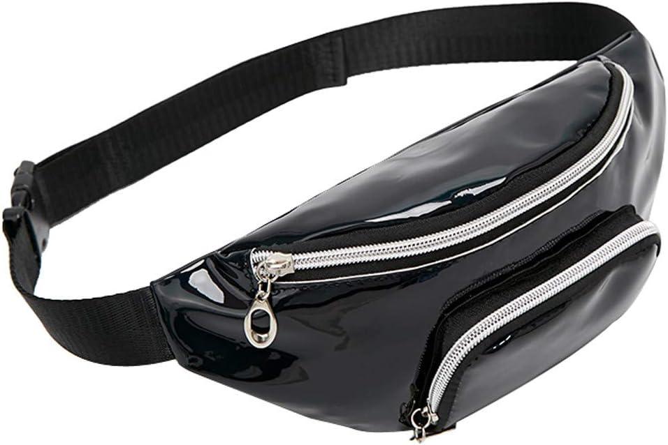 Bollysky Multipurpose Sling Bag Fashion Lady Shoulders Sequin Waist Pack Letter Purse Mobile Phone Messenger Bag