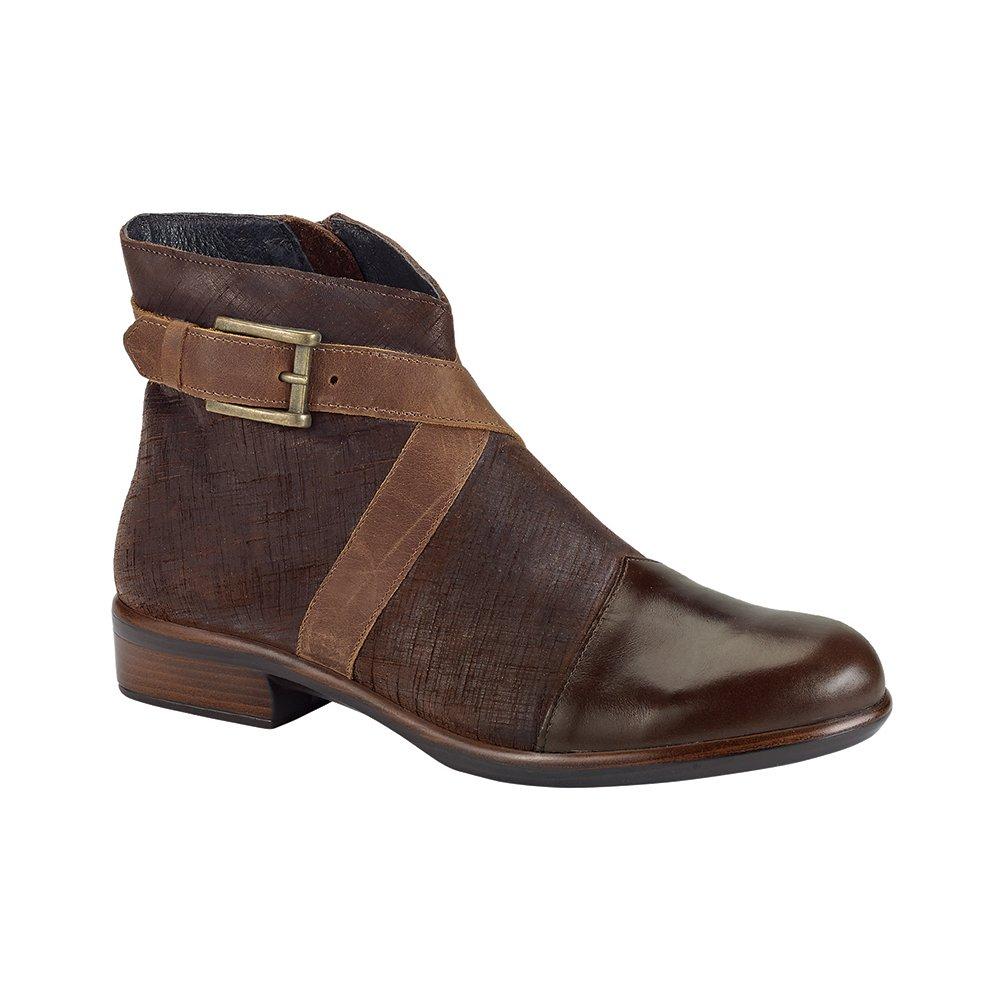 NAOT boreas Aura Women Boots, Walnut/Mine Brown/Saddle Brown,Size - 35