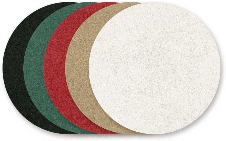 beige r/ésistant ponceuses multi-disques 150 mm p Lot de 10 RETOL disques abrasifs normaux polyester