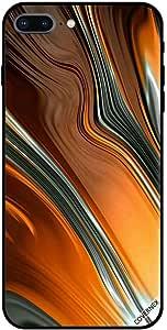 Case For iPhone 7 Plus - Liquid Design Pattern