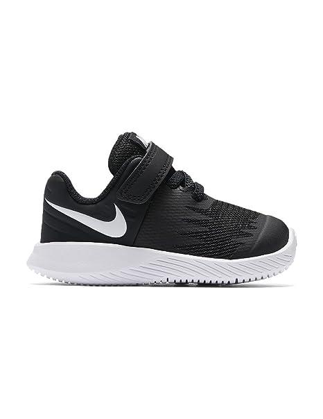 Nike Star Runner (TDV), Zapatillas de Estar por casa Bebé Unisex, Negro