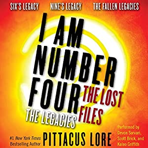 I Am Number Four: The Lost Files: The Legacies Audiobook