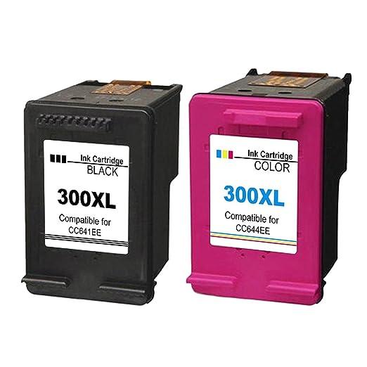 9 opinioni per 2 XL Compatibili HP 300XL Cartucce d'inchiostro Sostituzione per Deskjet D1600
