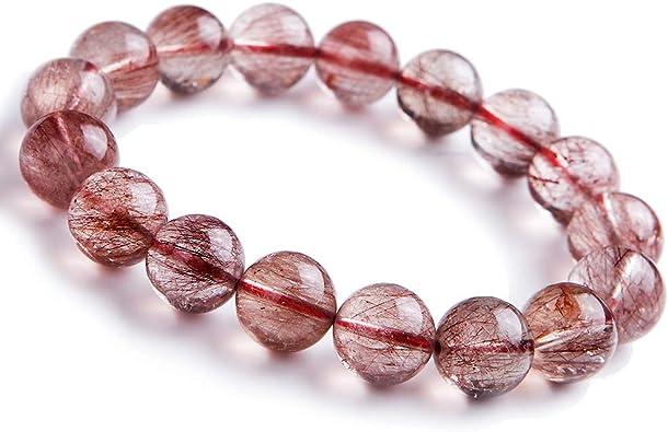 Red Rutilated Quartz Bracelet