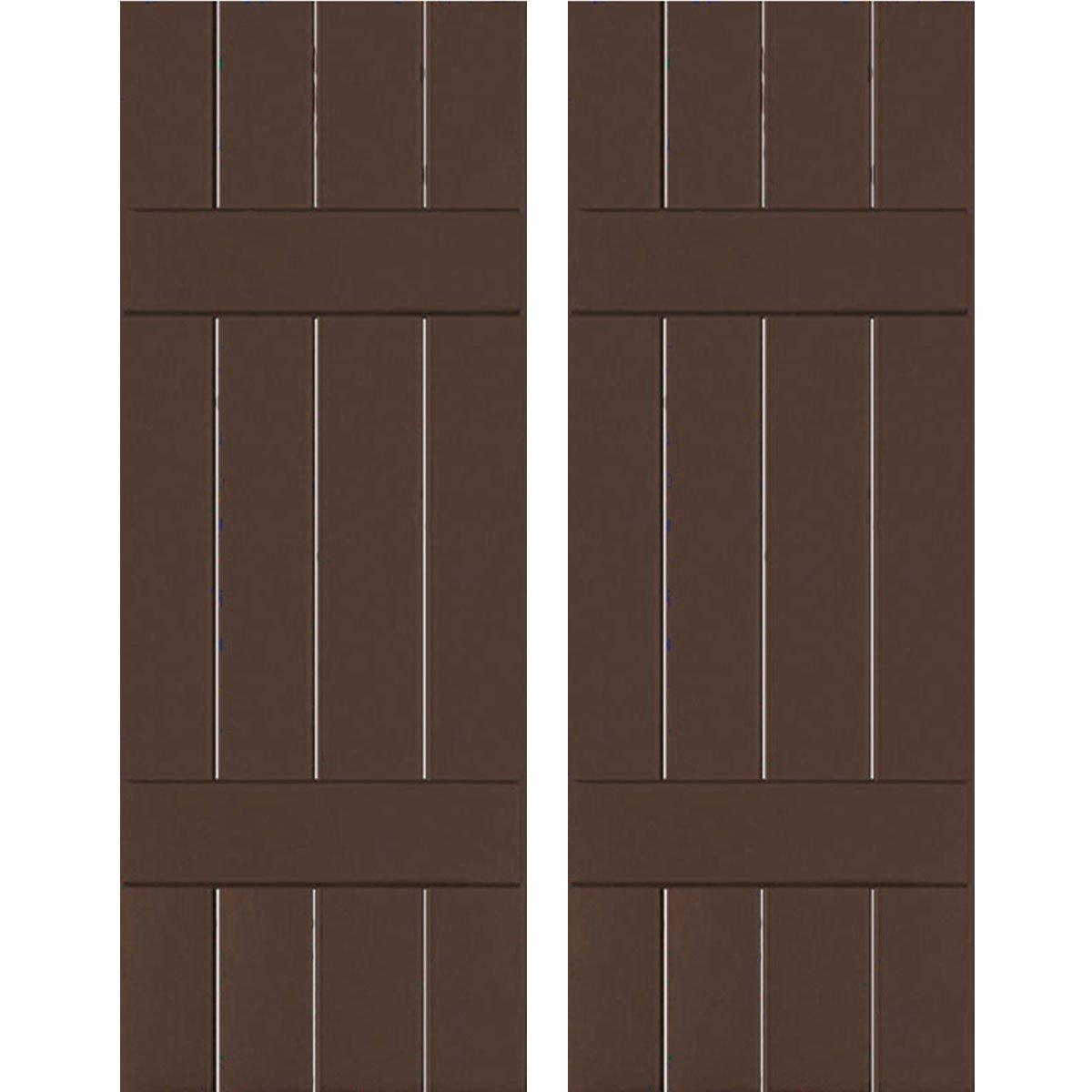 Ekena Millwork RWB15X030TBW Exterior Four Board