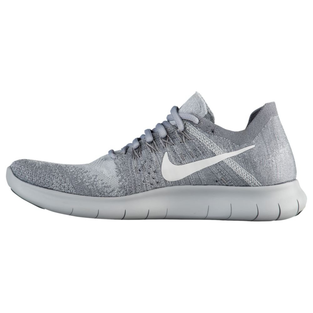 NIKE Women's Free RN Flyknit 2017 Running Shoe B07C3BL6SC 6.5 B(M) US|Wolf Grey/White-anthracite-cool Grey
