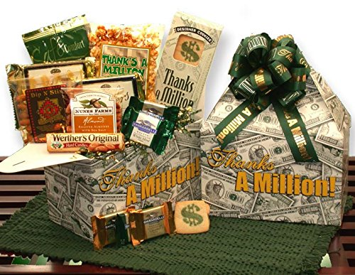 Ghirardelli Thanks A Million Deluxe Care Package by Thank you gifts