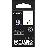 Casio XR-9WE1 Standard Ez Label Tapes