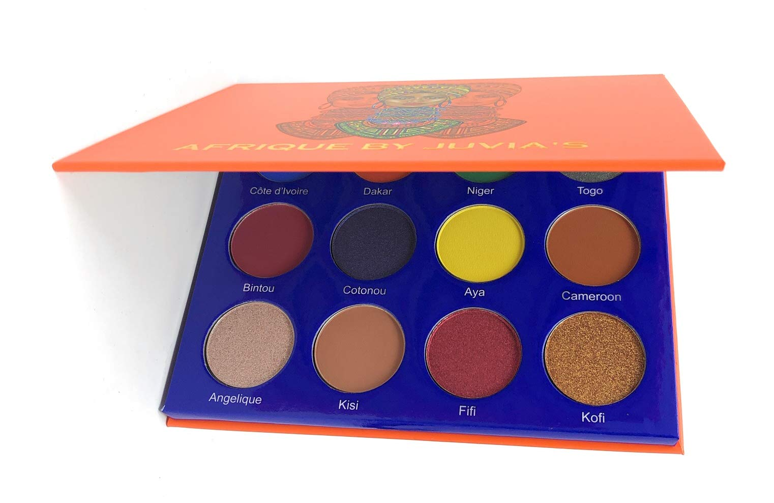 The Afrique Palette by Juvia's