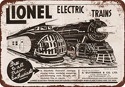 7  X 10  Metal Sign   1935 Lionel Trains Up M 10000   Vintage Look Reproduction