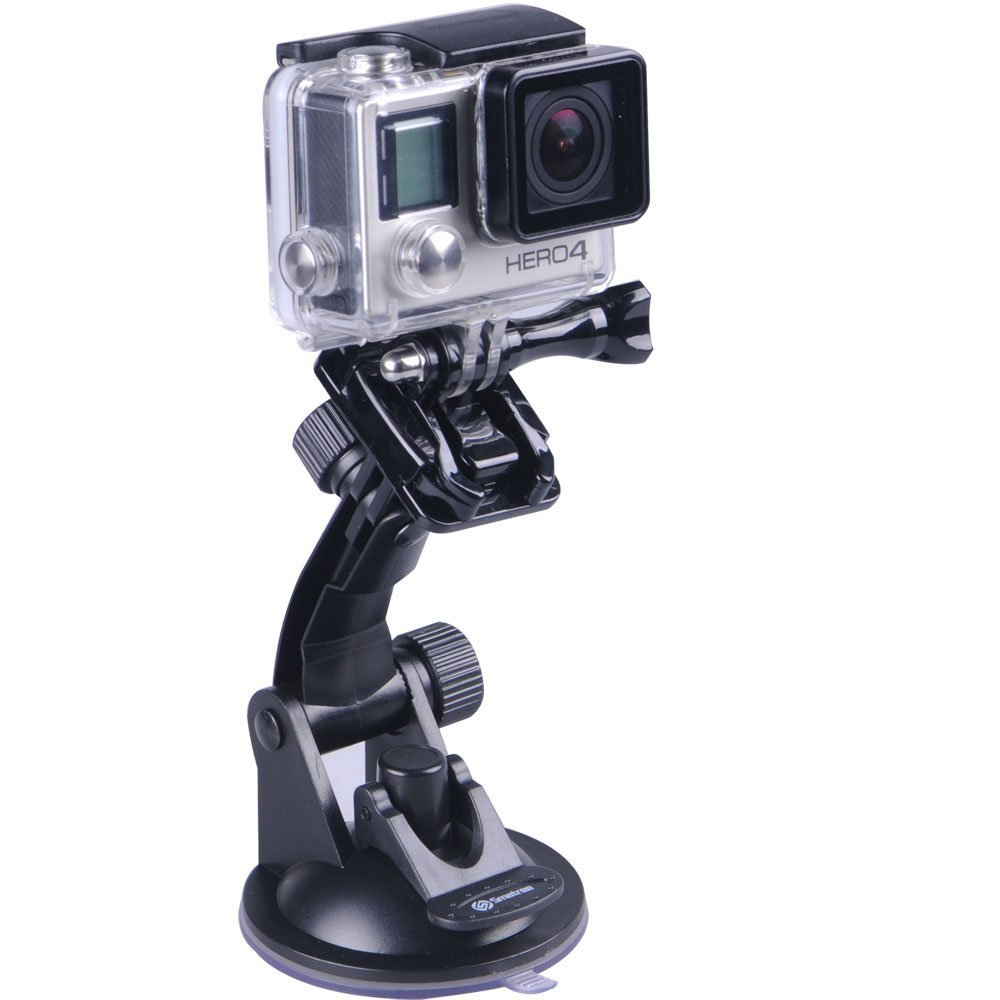 Smatree Suction Cup Mount for GoPro Hero 7/6/5/4/3+/3/2/1/Session XSHOT XSCT