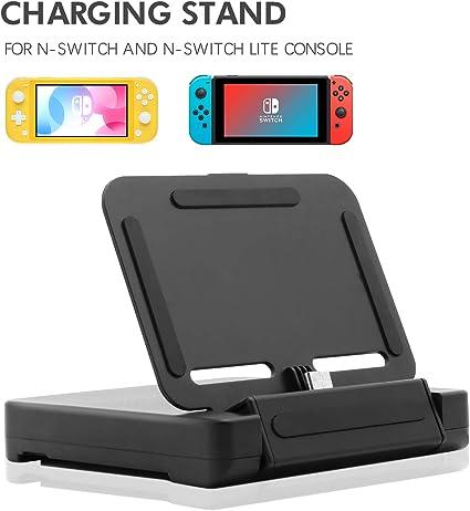 Base de Carga para Nintendo Switch Lite, Soporte de Carga para ...