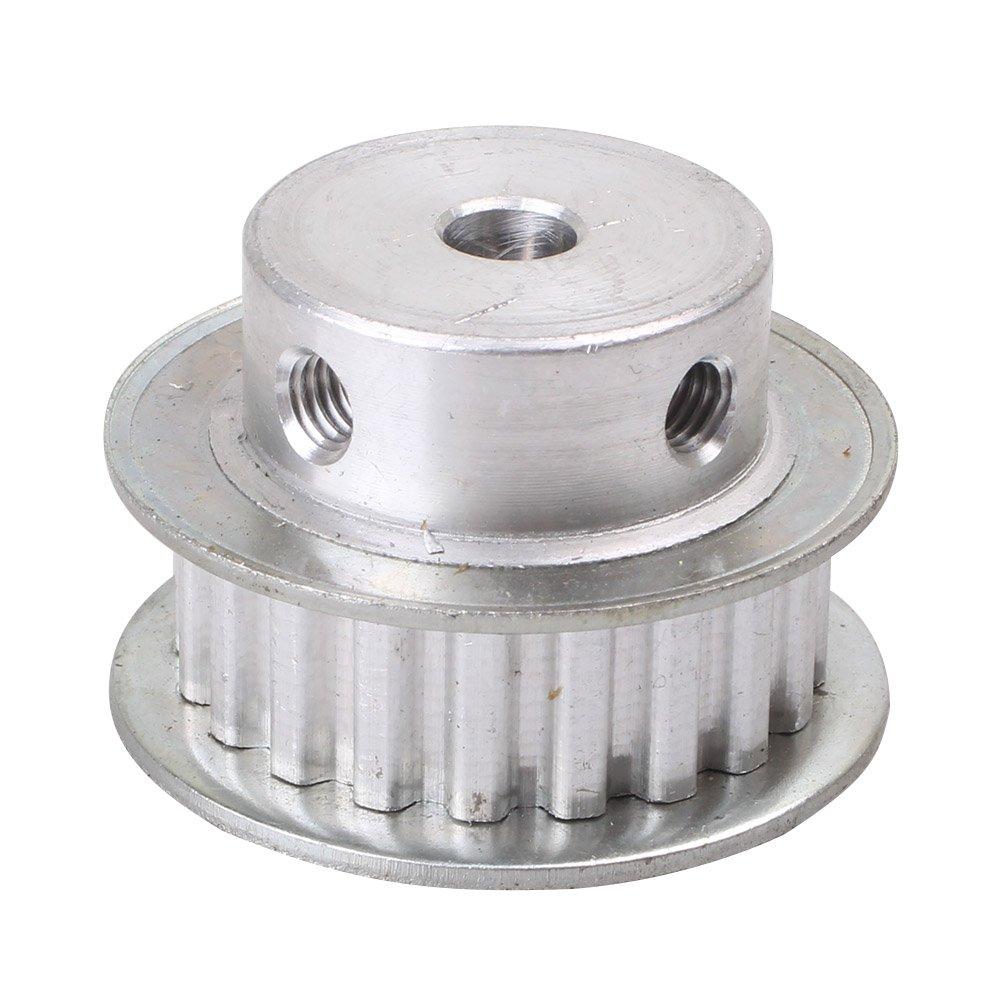 6,35 mm Bohrung XL20T Z/ähne f/ür 3D-Drucker 10 mm Breite Zahnriemen GZYF Zahnriemenscheiben