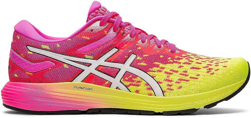 ASICS Dynaflyte 4 - Zapatillas de running para mujer, Rosa (Rosado fuerte/blanco), 35.5 EU: Amazon.es: Zapatos y complementos