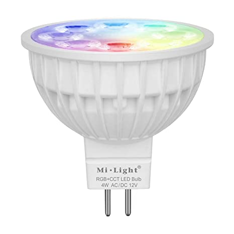 Smart Super Bright Smart Bulb Wifi Gu10 Rgb Remote Control Led Bulbs Light Dimmable Led Lamp Light Spotlight For Table Lamp Wall Light Lights & Lighting