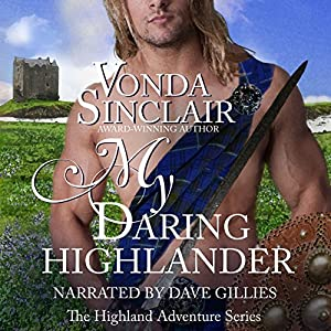 My Daring Highlander Audiobook
