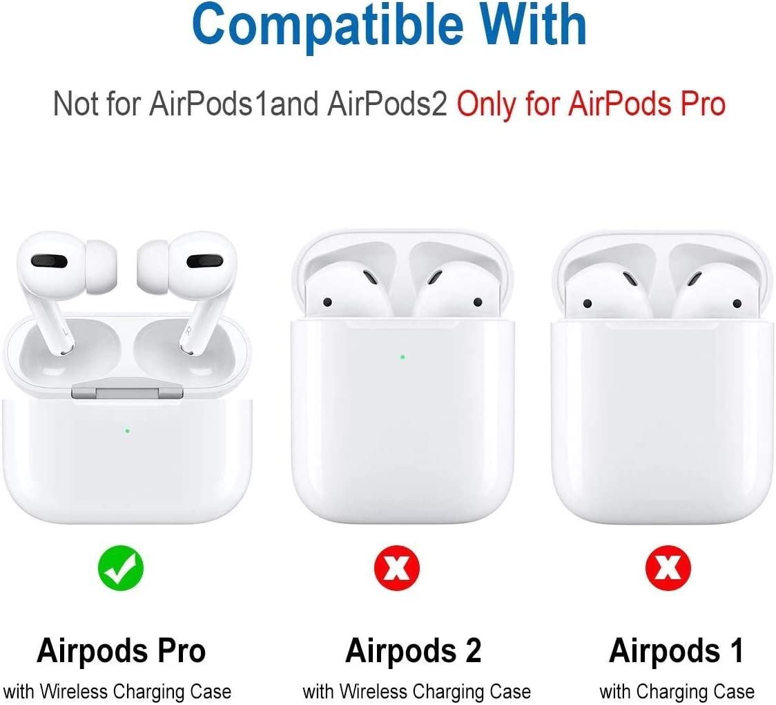 Cute Leather Airpod//3 Skins Accessories Kits Compatible with Wireless Charging Case,Comes with Exquisite Luxury Gift Box Packaging. Beige Airpods pro Leather Case Cover Come with Keychain Clip