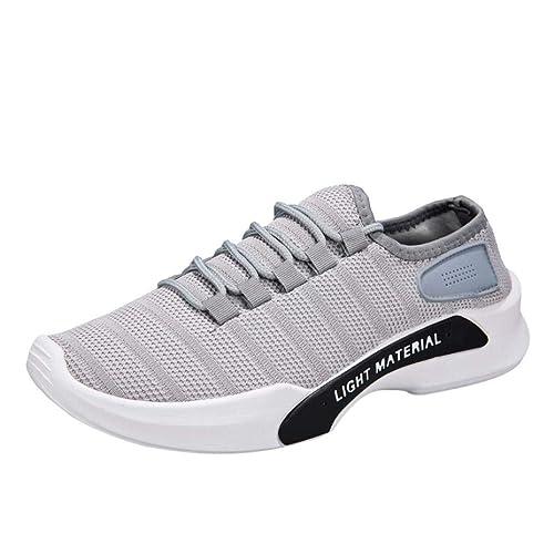 Zapatillas de Malla Deportes Cordones para Hombre, QinMM Zapatos Respirable Casual Running Gym Verano Primavera otoño Sandalias: Amazon.es: Zapatos y ...