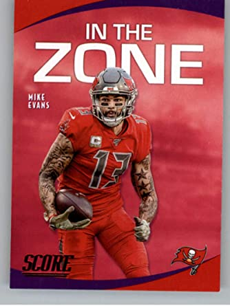 Amazon.com: 2020 Score In the Zone Red Football #16 Mike Evans ...