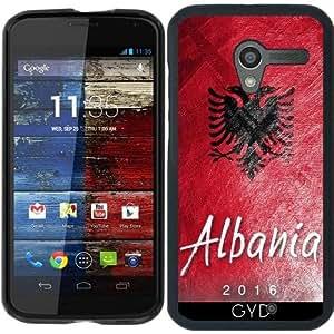 Funda para Motorola Moto X (Generation 1) - Bandera De Albania by Julien Kaltnecker