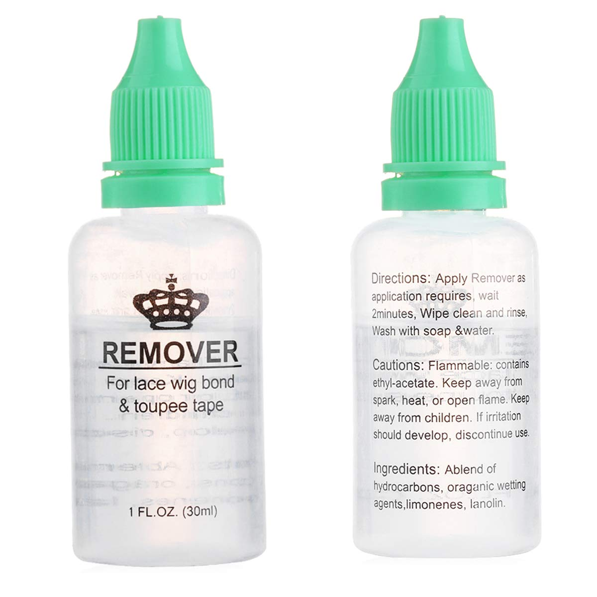 Pro Wig Hair Glue Adhesives Remover Fast Remove Hair Extension Tape For Lace Wig Bond Toupee Accessory 1 Bottle 30ml 100% Original Adhesives
