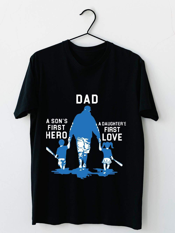 Papa Est Un Premier Héros De Fils Et Un Premier T Shirt For Unisex