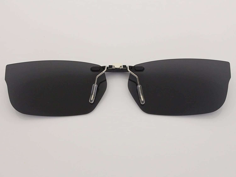 f634b5af57 Custom Fit Polarized CLIP-ON Sunglasses For Oakley Bucket OX1060 53X17  Black - - Amazon.com