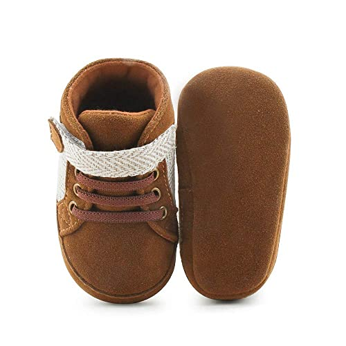 760d0006e598a Delebao Baby Running Sneakers Hook & Loop Fashion Shoes