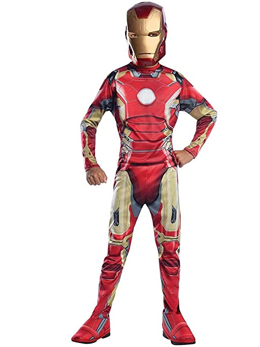 Iron Man Mark 43 Kostüm Für Kinder Avengers Age Of Ultron Outfit Groß Alter 810 Höhe 1422 1524 Cm
