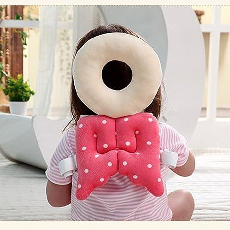 lucear bebé niños ajustable bebé seguridad casco protector para ...