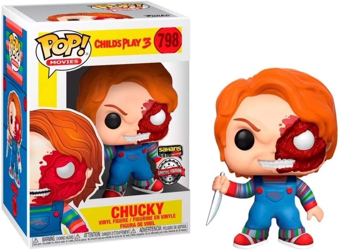Movies Horror Vinyl Figure CHILD PLAY Chucky on Cart a #658