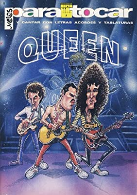 QUEEN - Cancionero (Letras y Acordes) para Guitarra: Amazon.es ...