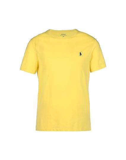 Ralph Lauren T-Shirt - Homme Jaune - XL  Amazon.fr  Vêtements et ... cdd83a0df7f