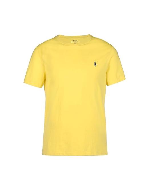 Ralph Lauren - Camiseta - para Hombre Amarillo X-Large: Amazon.es: Ropa y accesorios