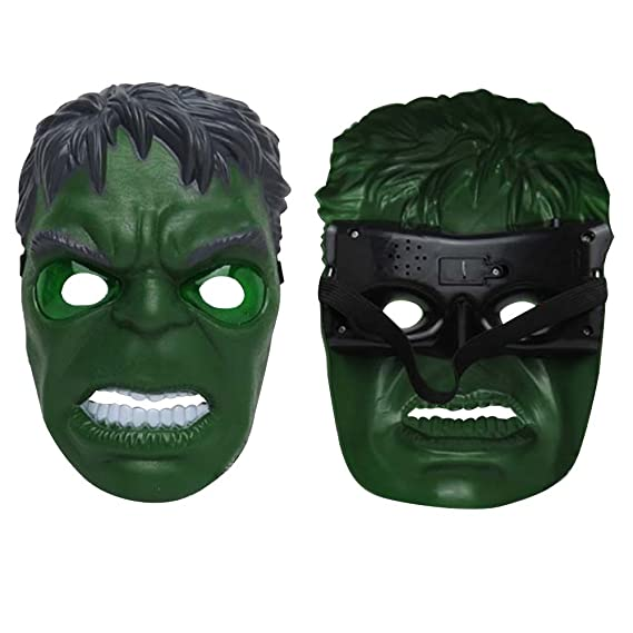 morningsilkwig Hulk Máscara Movie Fantastic Four Cosplay Hombres látex Juguete del Partido para Halloween (S, Green): Amazon.es: Juguetes y juegos