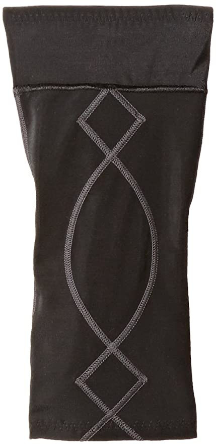 CW-X Conditioning Wear Women's Stabilyx Knee Support, Small, Black/Charcoal