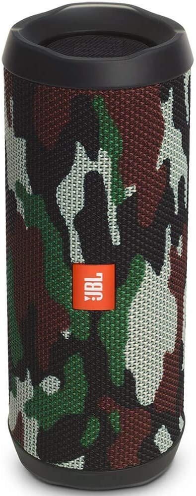 JBL FLIP 4 - Waterproof Portable Bluetooth Speaker - Squad Camo