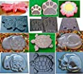 Betonex Ladybug Stepping Stone Mold Concrete Cement Mould ABS Moth Garden Path #S49