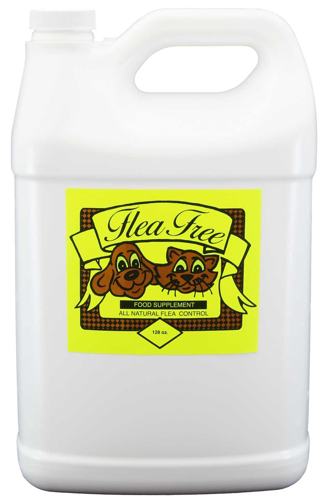 Flea-Free Pure Organic Food Supplement and Natural Pet Products , 128 Ounce by Natural Pet Products