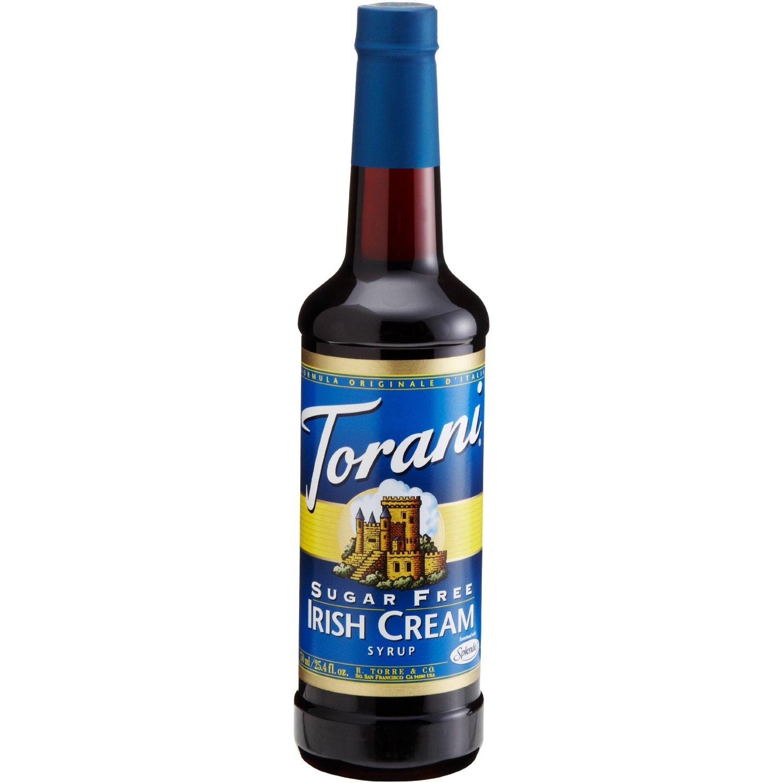 Torani Sirup Irish Cream zuckerfrei 750 ml: Amazon.de: Lebensmittel ...