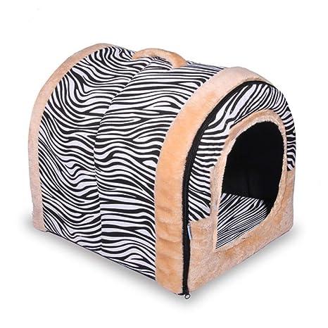 Cueva extraíble para perros, perros y gatos, Cama caliente, Mascotas, Casa para