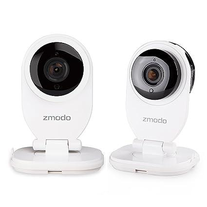 Zmodo 2 Mini cámara Vigilancia WiFi 720p HD ezcam Cámara IP con 2 Vías de Audio