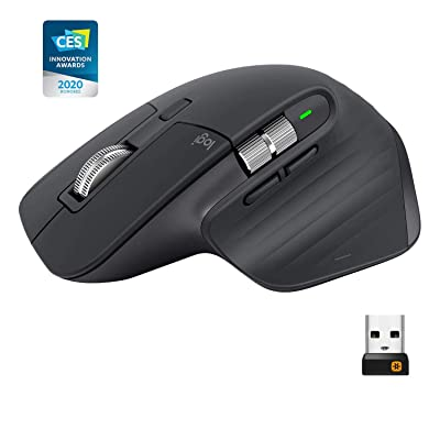Logitech MX Master 3 Advanced Wireless Mouse - Graphite