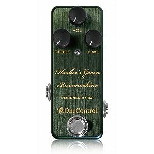 One Control Hooker's Green Bass Machine