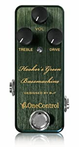 One Control Hooker's Green Bass Machine
