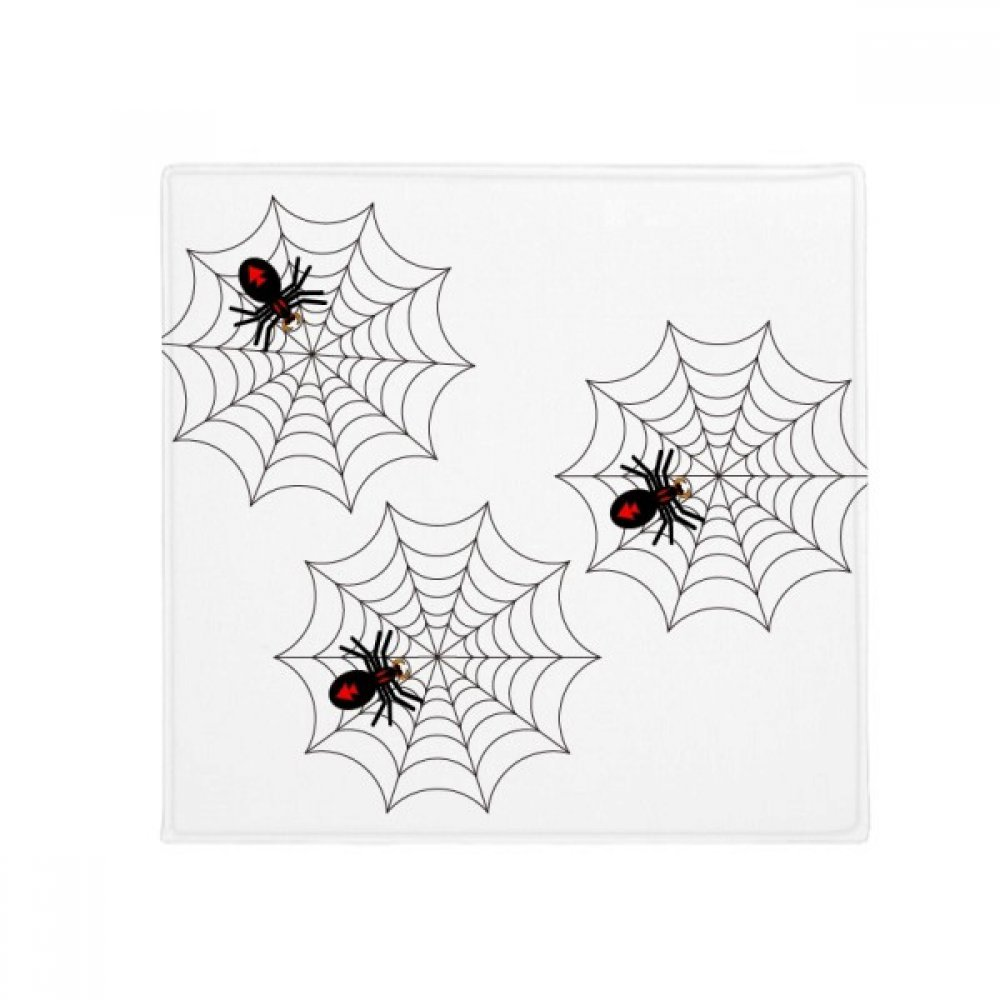 DIYthinker Halloween Ghost Fear Spider Anti-Slip Floor Pet Mat Square Home Kitchen Door 80Cm Gift