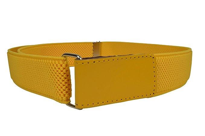 8e37966d4f6 Olata Cinturón Elástico para los Niños Niñas 1-15 Años con Hook y Loop  Fijación  Amazon.es  Ropa y accesorios