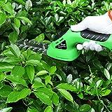 East garden tools ET2704C 3.6V 2in1 Li-Ion battery Pruning tool Cordless Hedge Trimmer Grass Trimmer Brush Cutter Shrub Shear
