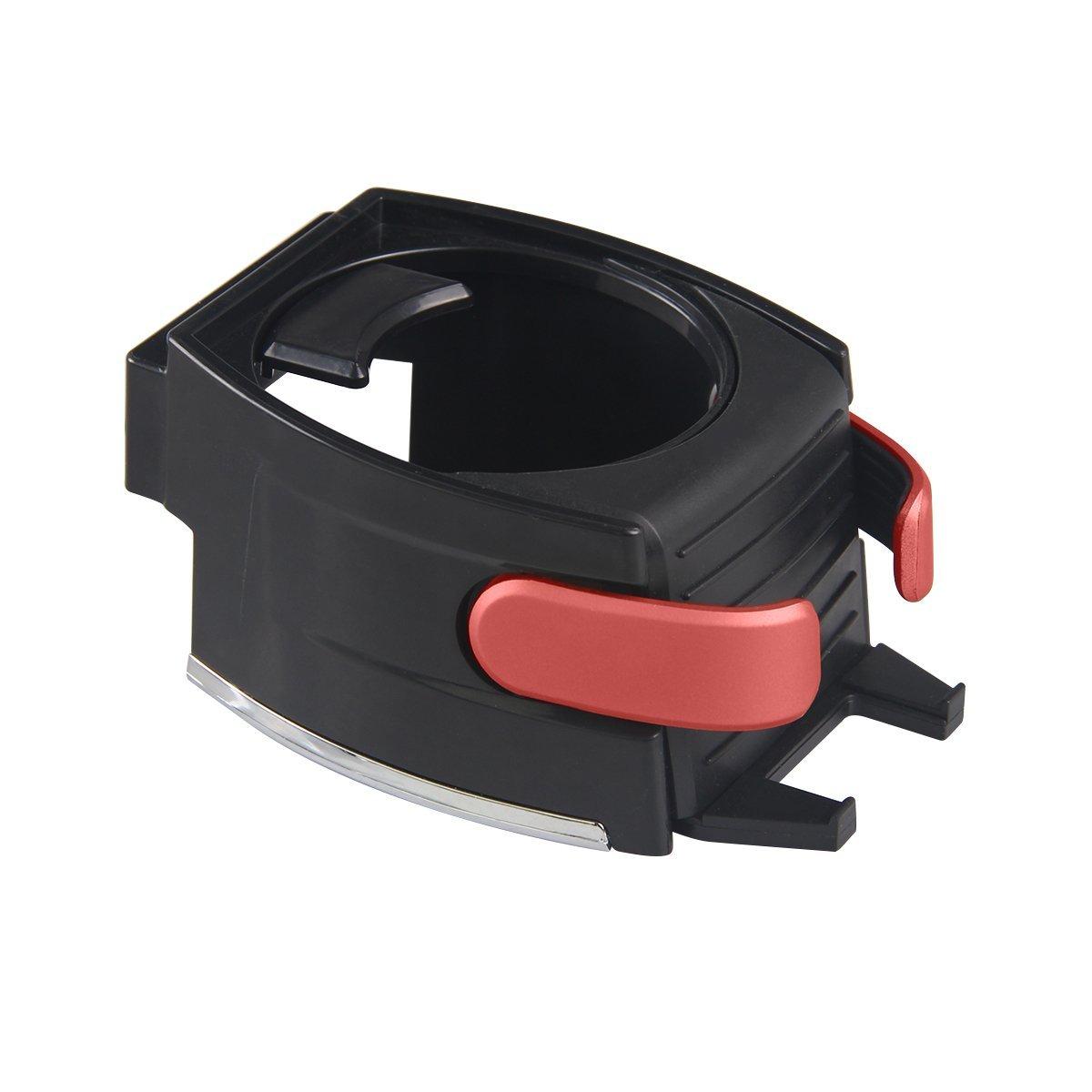 Cl/és XFAY 2 en 1 Support Multifonctionnel de Voiture en Plastique pour Gobelet//Smartphone /& Support Porte-gobelet /& Support T/él/éphone Rouge Bouteille// Canette Cartes ect